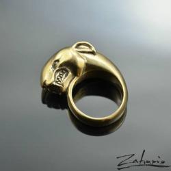 zahario,bulterier,pies,pierscien,sygnet,bizuteria, - Pierścionki - Biżuteria