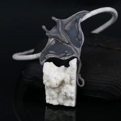 wisior z płaszczką,wisior z orkami,srebrny wisio - Wisiory - Biżuteria