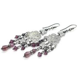 koronkowe,kandelabry,długie - Kolczyki - Biżuteria