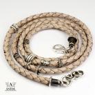Bransoletki bransoleta z rzemienia,męska biżuteria