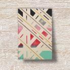 Obrazy akryl,geometryzacja,płótno,abstrakcja