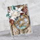 Kartki okolicznościowe boże narodzenie,aniołek,bombka,shaker box