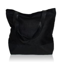 czarna torebka,torba zamszowa - Na ramię - Torebki