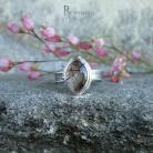 Pierścionki kwarc rutylowy,srebrny pierścionek