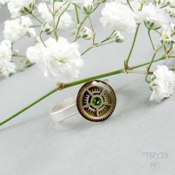 pierścionek,steampunk - Pierścionki - Biżuteria