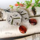 Kolczyki lekkie wiszące kolczyki,makrama,soft things