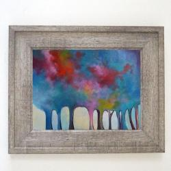drzewa,obraz akrylowy - Obrazy - Wyposażenie wnętrz