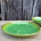 Ceramika i szkło ceramika,misa,patera,liść ceramiczny,hand made