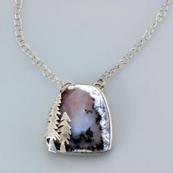 wisior z agatem,Marina Noske - Wisiory - Biżuteria