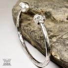 Dla mężczyzn bransoleta z czaszkami,męska biżuteria