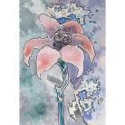 Ilustracje, rysunki, fotografia akwarela,kwiaty,lilia,na ścianę,dekoracja,obraz,