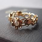 Pierścionki złoty pierścionek z diamentem