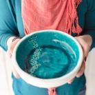 Ceramika i szkło ceramika,miska,turkus