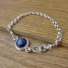 Bransoletki Delikatna bransoletka z lapis lazuli