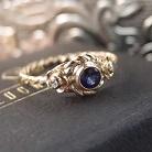 Pierścionki delikatny złoty pierścionek