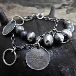 srebro,kute,bransolteta - Bransoletki - Biżuteria