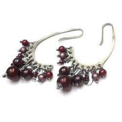 kamienie,minerały,eleganckie - Kolczyki - Biżuteria