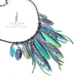 tytan,rękodzieło,biżuteria artystyczna,naszyjni - Naszyjniki - Biżuteria