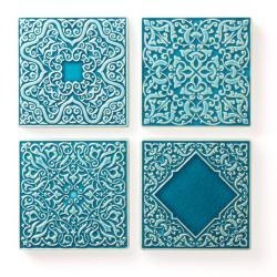 kafle ręcznie robione,dekory,płytki,ścienne - Ceramika i szkło - Wyposażenie wnętrz