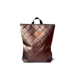 plecak,pikowany,ręcznierobiony,wygodny,pojemny, - Podróżne - Torebki
