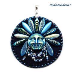 etno,efektowny,odważny,awangardowy - Wisiory - Biżuteria
