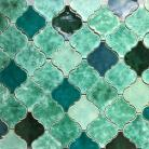 Ceramika i szkło kafle,Marakesz,maroko