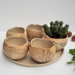 doniczka na sukulenty,doniczka,sukulenty, - Ceramika i szkło - Wyposażenie wnętrz