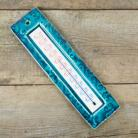 Ceramika i szkło turkusowy termometr pokojowy,niebieski,ceramiczny