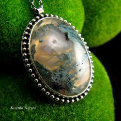 nehesi,naszyjnik,srebrny,unikatowy,srebra,mszysty - Naszyjniki - Biżuteria