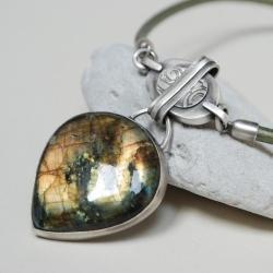 nitza,autorska,unikatowa,ręcznie robiona, - Naszyjniki - Biżuteria