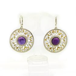 unikat,srebrne kolczyki,dla niej - Kolczyki - Biżuteria
