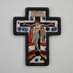 Beata Kmieć,ikona,krzyż,ceramika - Ceramika i szkło - Wyposażenie wnętrz