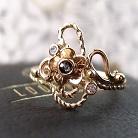 Pierścionki złoty pierścionek z szafirem