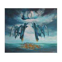 obraz surrealizm,realizm magiczny - Obrazy - Wyposażenie wnętrz