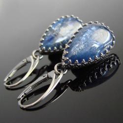 Tagi: kianit,kolczyki,kyanit,srebro - Kolczyki - Biżuteria