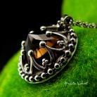 Naszyjniki nehesi,naszyjnik,srebrny,unikatowy,srebra,kwarc
