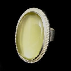 lemon,beryl,retro,srebrny,szary,złocisty - Pierścionki - Biżuteria