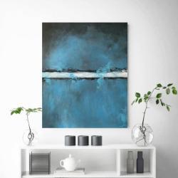 obraz,abstrakcja,akryl - Obrazy - Wyposażenie wnętrz