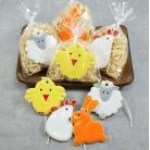 Ceramika i szkło zajączek,kurka,baranek,kurczaczek,wielkanoc