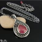 Naszyjniki rubin,róża,romantyczny,róż,elegancki,naturalny