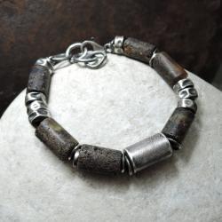 surowy,kuty,oksydowany - Dla mężczyzn - Biżuteria