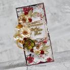 Kartki okolicznościowe ślub,kartka ślubna,kwiaty,girlanda