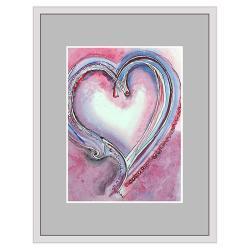 serce,serduszko,akwarela,ilustracja,dekoracja, - Ilustracje, rysunki, fotografia - Wyposażenie wnętrz
