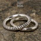 Dla mężczyzn obrączka,komplet obrączek,pierścień