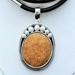 biżuteria,srebro,wisiory,naszyjniki z jaspisem - Naszyjniki - Biżuteria