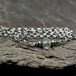 naszyjnik z fluorytem - Naszyjniki - Biżuteria