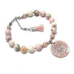 kamienie,minerały,boho,chwost - Bransoletki - Biżuteria
