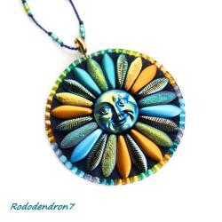 awangardowy,odważny,kolorowy,energetyczny - Wisiory - Biżuteria