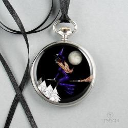 czarownica,wisior czarownica, - Wisiory - Biżuteria