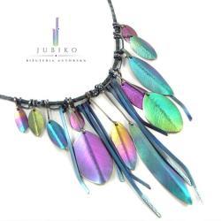 tytan,naszyjnii,hipoalergiczne,ręcznie wykonane - Naszyjniki - Biżuteria